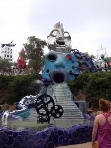 Opening statue at the park
